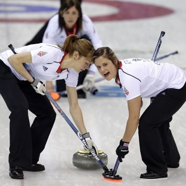 The Bolton News: Great Britain's women's curlers are through to the semi-finals (AP)