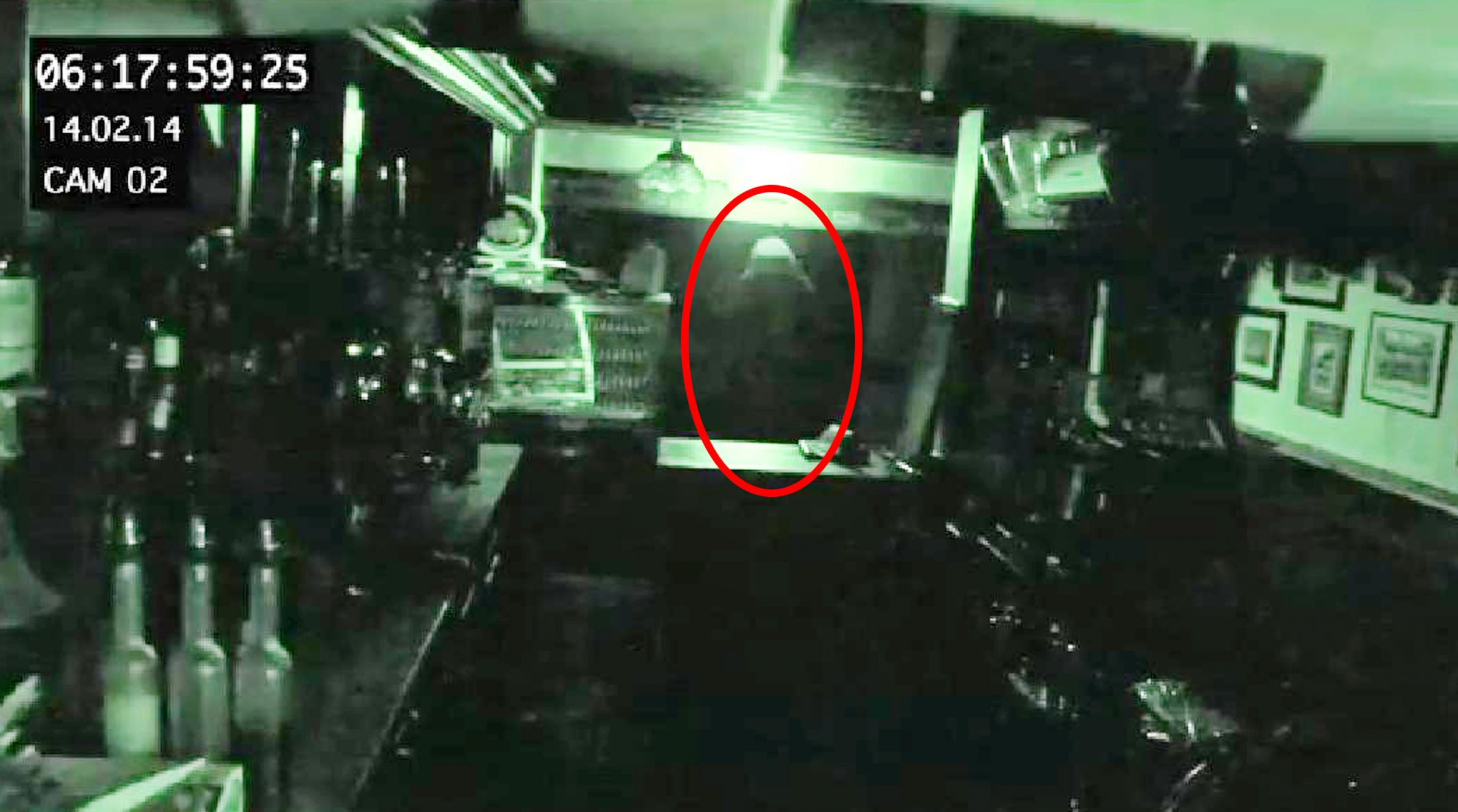 VIDEO: 'Ghost' caught on CCTV at Bolton's oldest pub