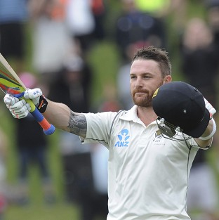 Brendon McCullum's mammoth 302 came off 559 balls (AP)