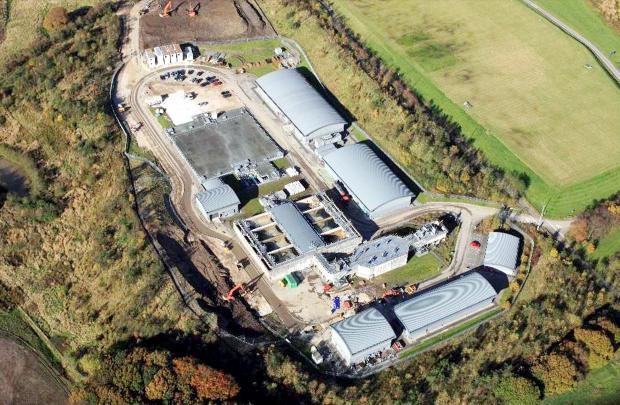 The Lostock water treatment works site