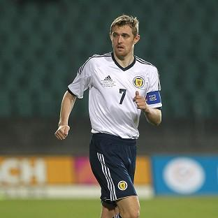 Darren Fletcher is back in the fold for Scotland