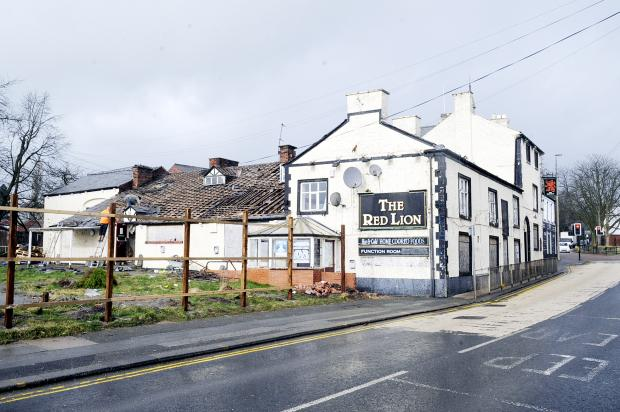 The Bolton News: The care home will occupy the site of the Red Lion pub  in Westhoughton