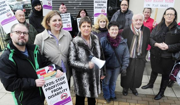 The Bolton News: Julie Hilling backs the protest against Atos