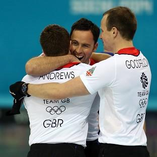 Great Britain's men's curling team take on Canada in Friday's final