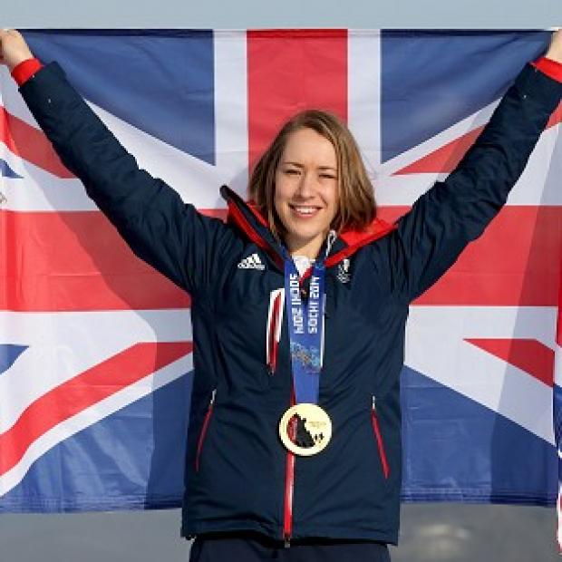 The Bolton News: Lizzy Yarnold has been blown away by her fame since winning gold