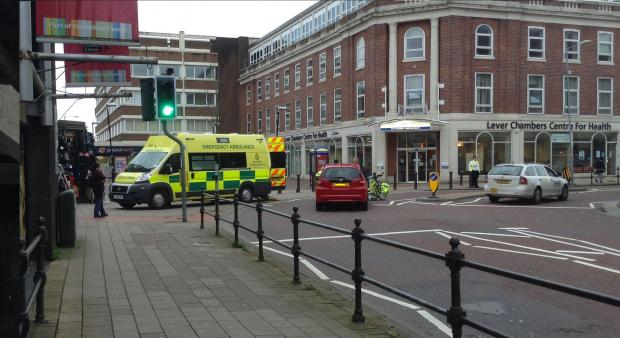The Bolton News: The incident on Howell Croft Street