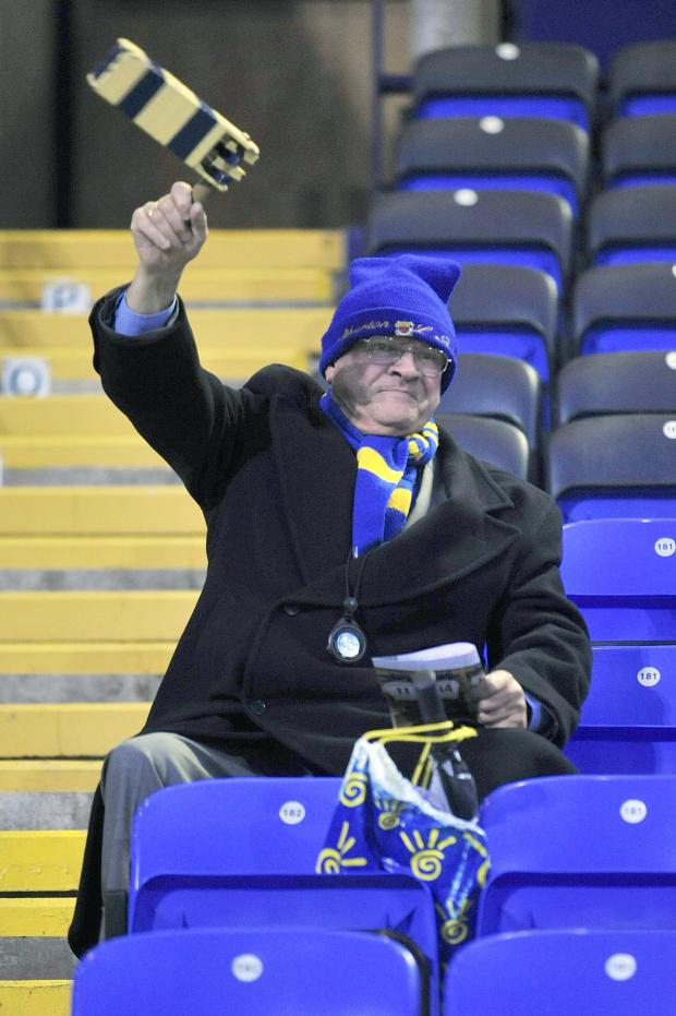 The Bolton News: Atherton LR super fan Eddie Taylor