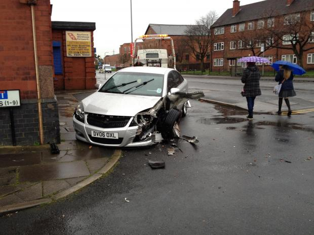 The Bolton News: Car crashes into Farnworth Lidl after driver taken ill