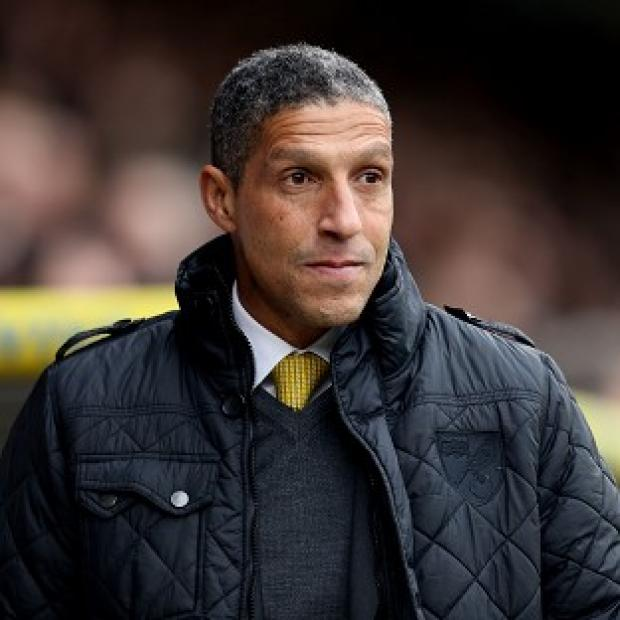 The Bolton News: Chris Hughton's Norwich recorded a much-needed win against Tottenham on Sunday