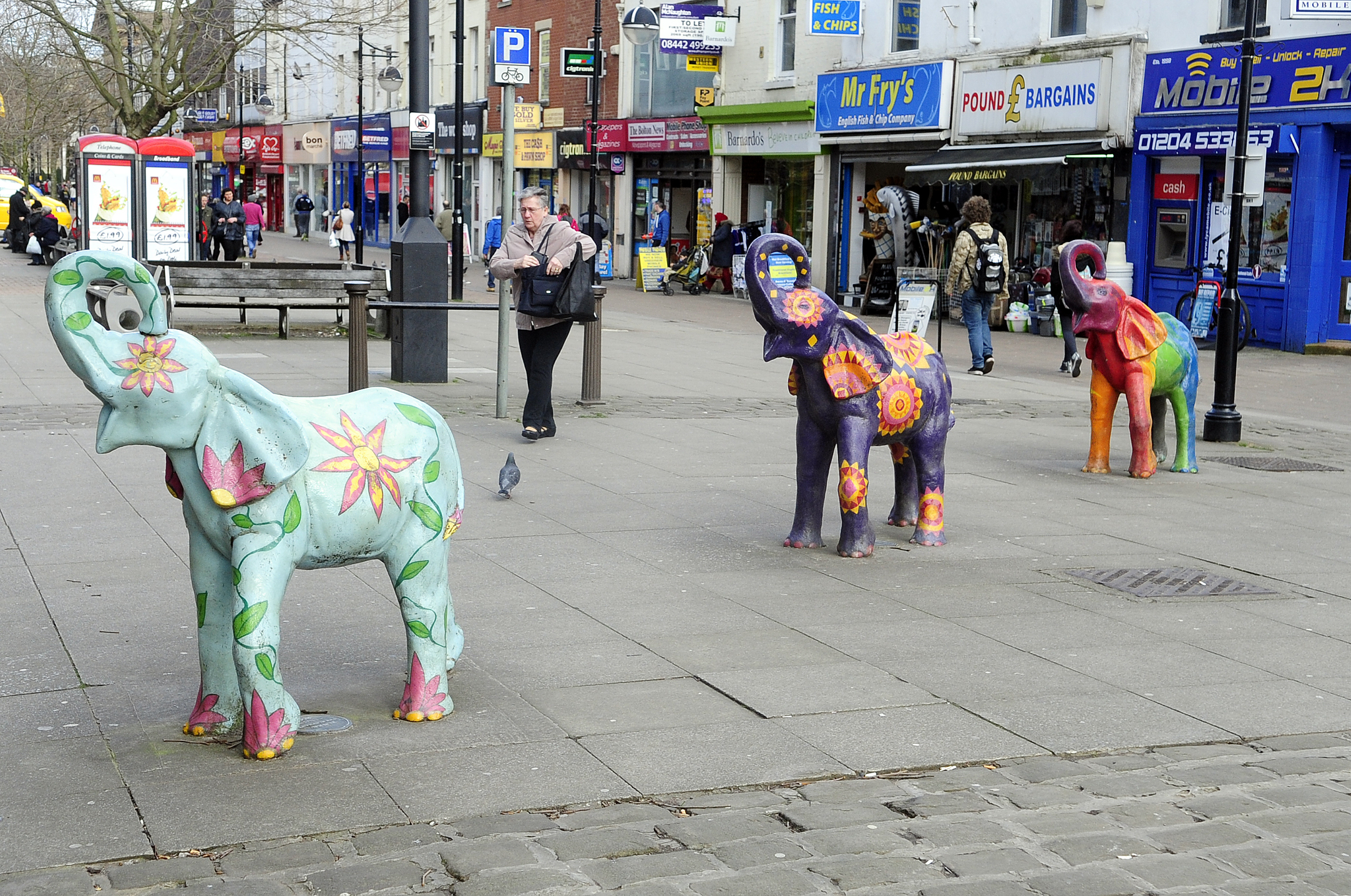 Charity canopy and Newport Street elephants to be moved