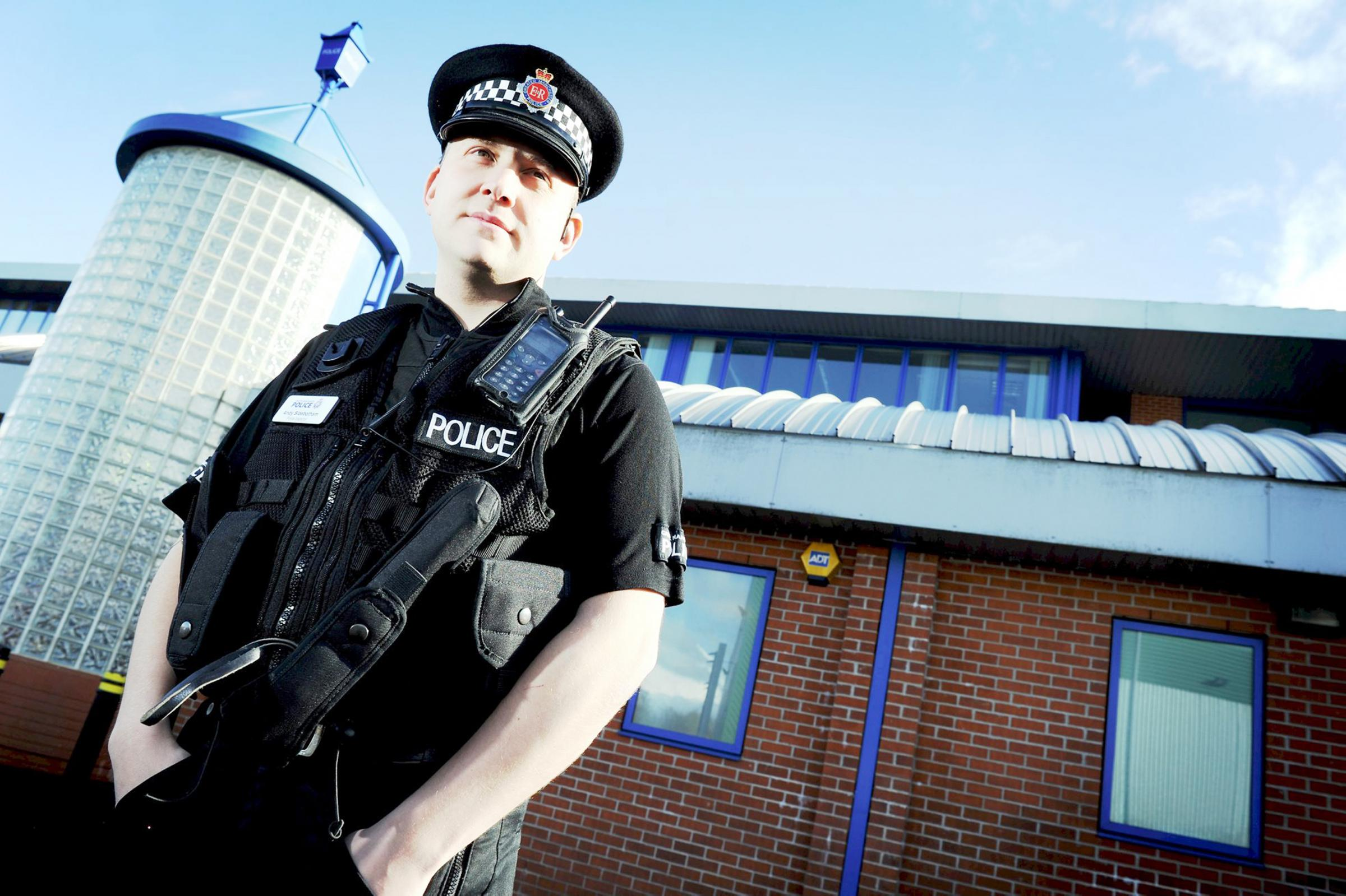 Insp Andy Sidebotham is leaving the Bolton Central Neighbourhood Policing Team for promotion and a role at GMP headquarters