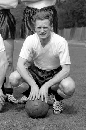Tom Finney in England colours