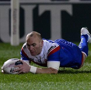 Luke Walsh goes over for a try