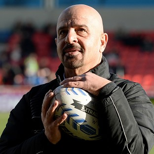 Marwan Koukash apologised for Salford's defeat
