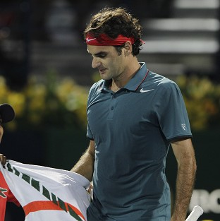 Roger Federer, pictured, beat Novak Djokovic to progress to the final (AP)