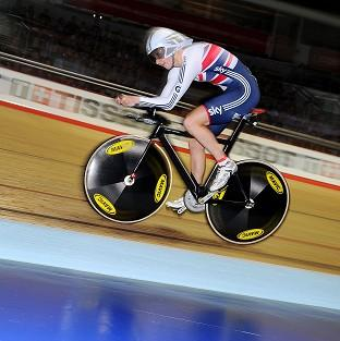 Joanna Rowsell has the chance to bag her second gold