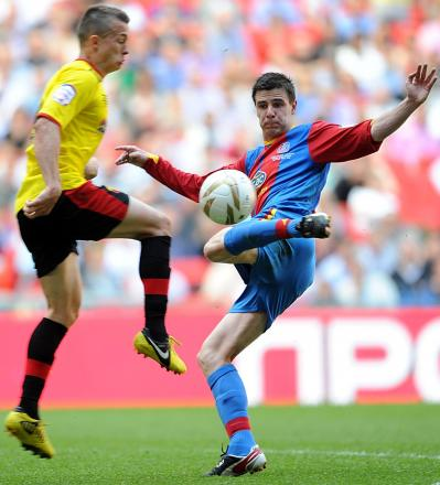 Wanderers in the frame for Crystal Palace midfielder?