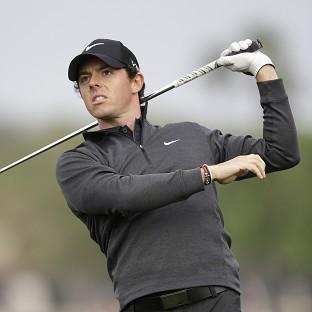 Rory McIlroy has a one-shot lead at the halfway point (AP)