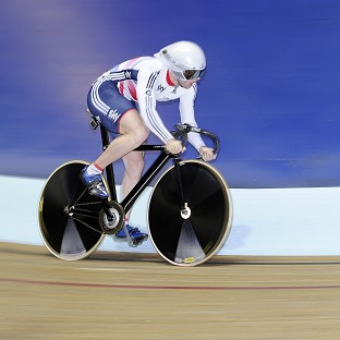 Jason Kenny struggled in the men's sprint