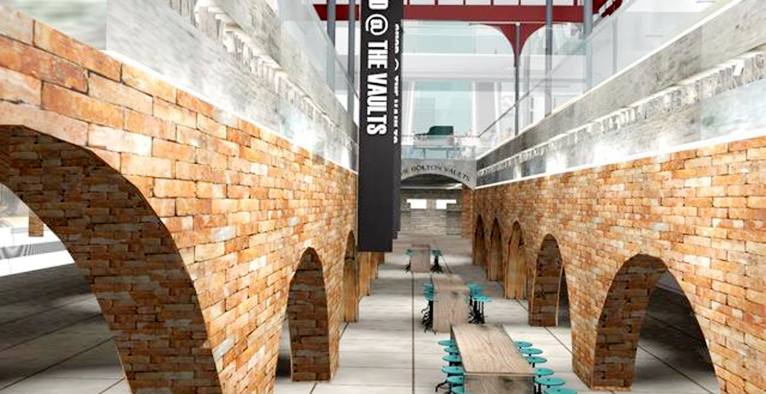 Revealed: How new restaurant and bar area in vaults of Market Place will look