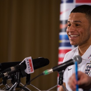 England's Alex Oxlade-Chamberlain says watching his go