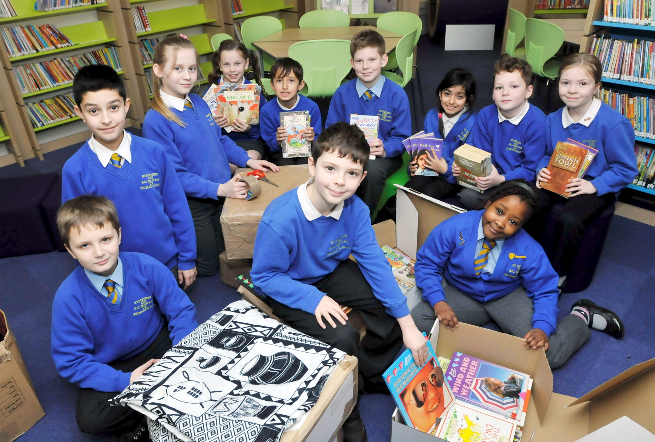 Children in Bolton form links with schools in Zambia