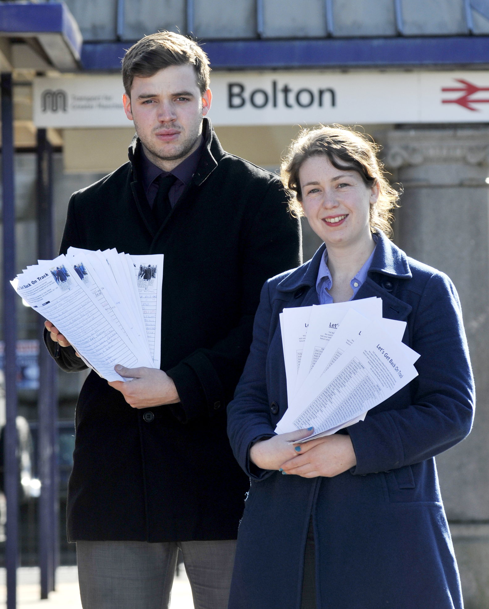 Our train petition going to Downing Street tomorrow