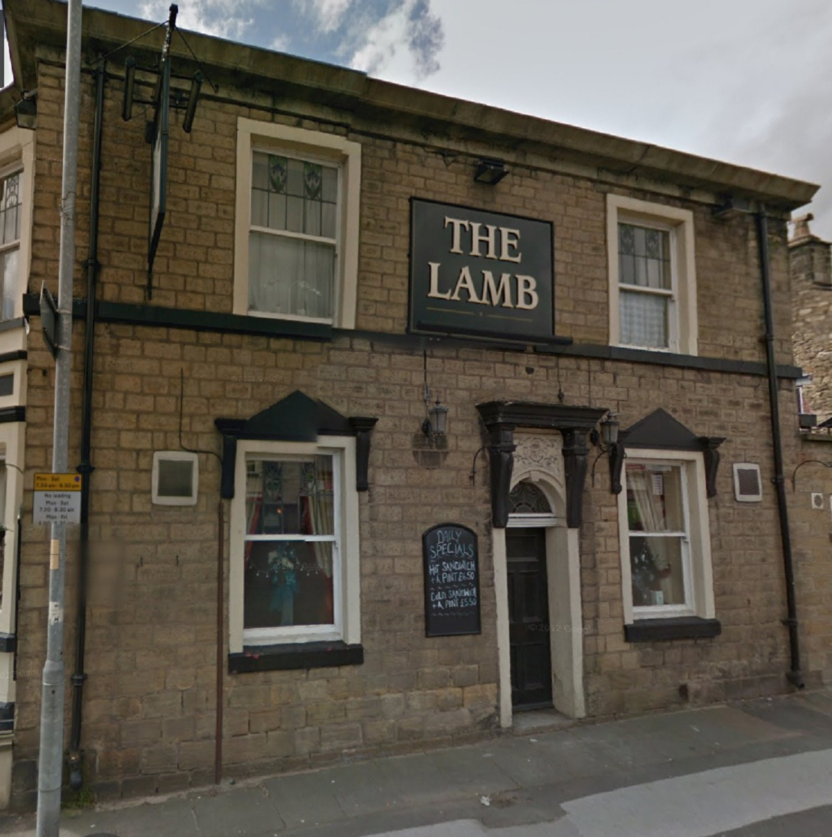 The Lamb in Blackburn Road, Astley Bridge. Picture from Google Maps.