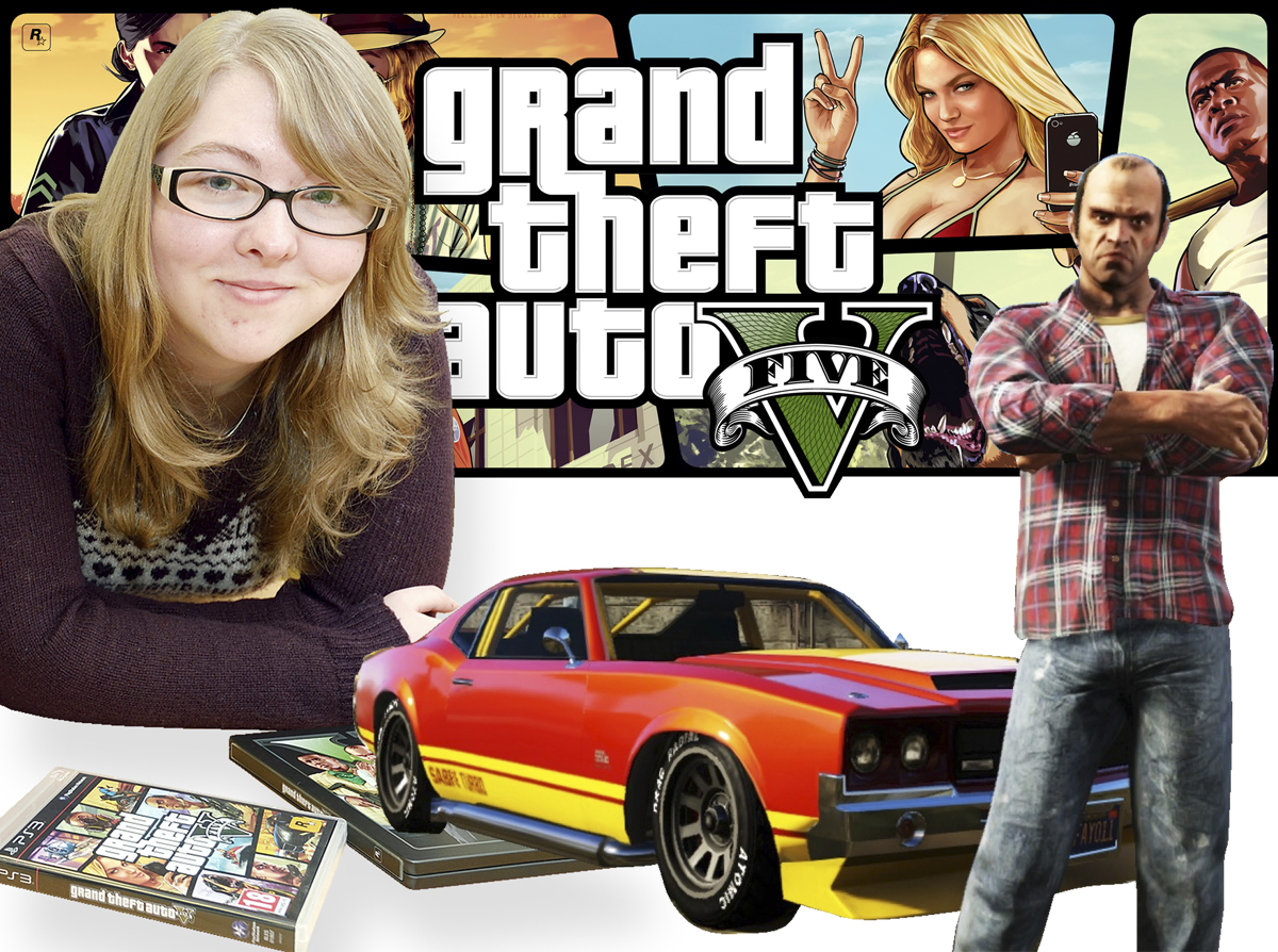 Shauni Maple, who after graduation worked on the biggest game of 2013, Grand Theft Auto V.