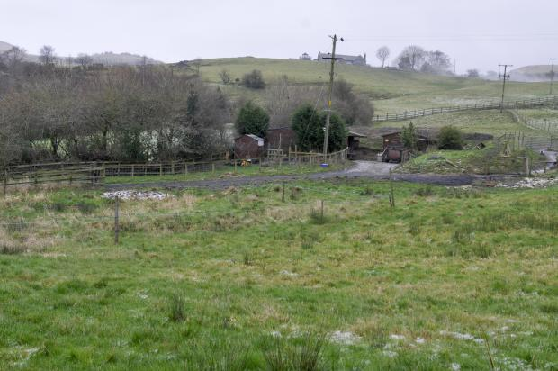 The site of the proposed development in Cotswold Drive, Horwich, which residents say would look