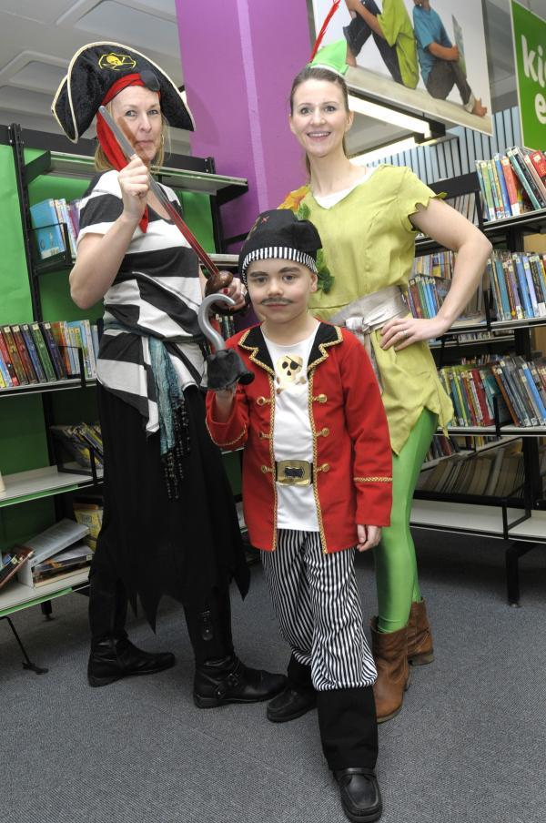 The Bolton News: Lisa Colling, Aaron Balmer and Sarah Watson from Leigh CE Infants School