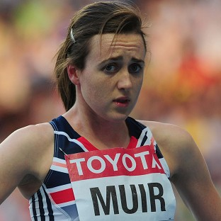 Laura Muir failed to reach the 800m final in Sopot