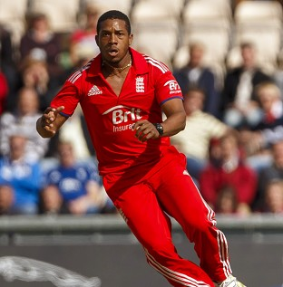 Chris Jordan is back in familiar surroundings at the Kensington Oval