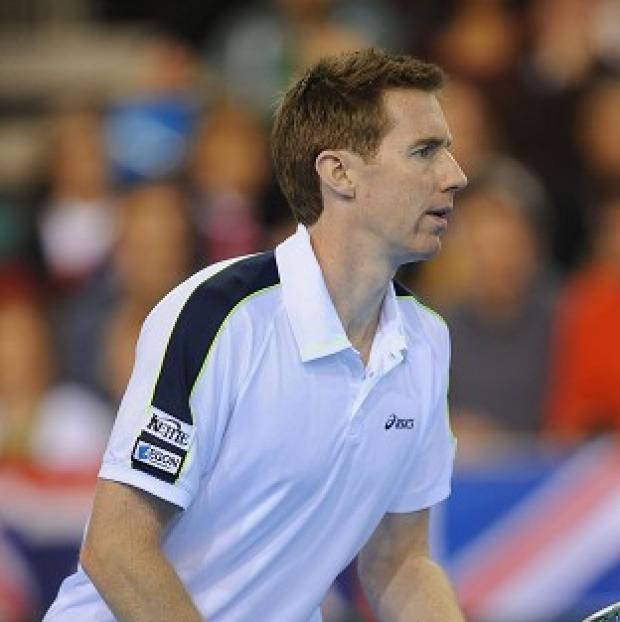 The Bolton News: Former Wimbledon winner Jonny Marray, pictured, partnered Andy Murray to victory in the first round of the men's doubles at the BNP Paribas Open