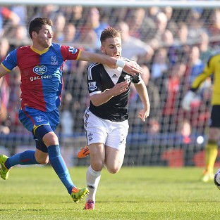 Luke Shaw, right, helped Southampton to victory at Selhurst Park