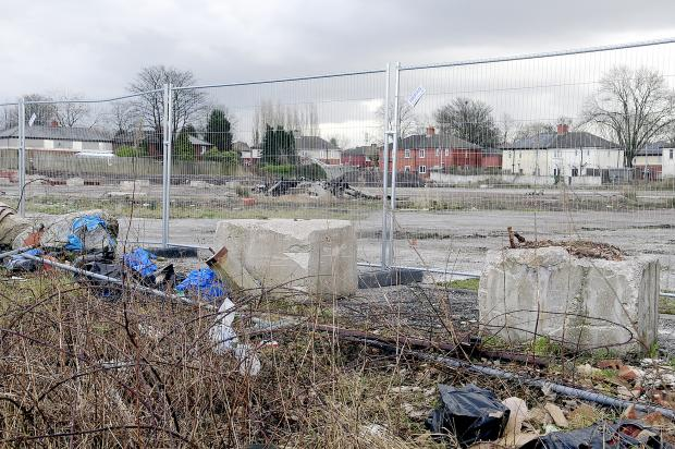 The Bolton News: The Little Lever Tesco site has become an eyesore