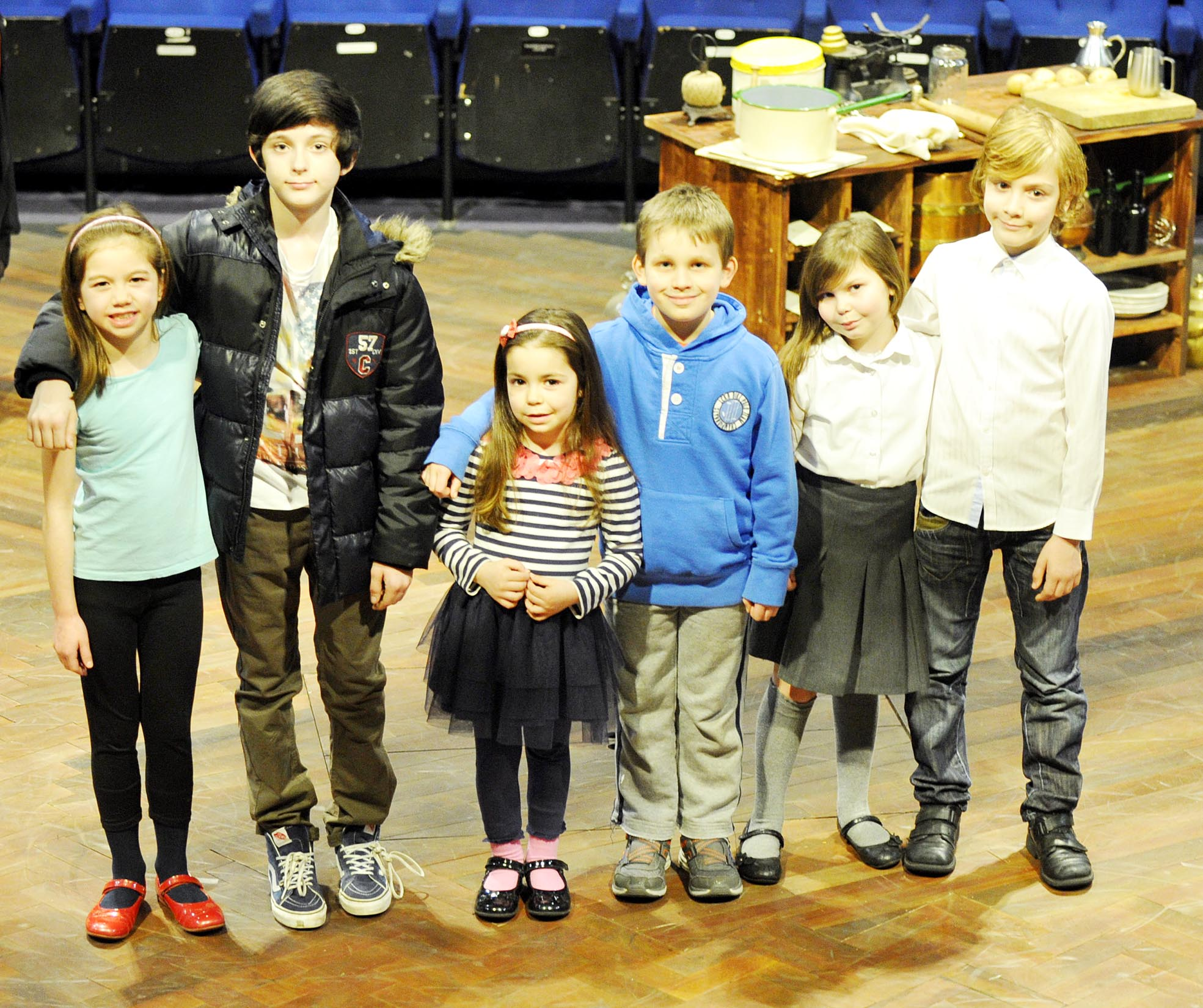 Youngsters audition to appear in Octagon's Brassed Off