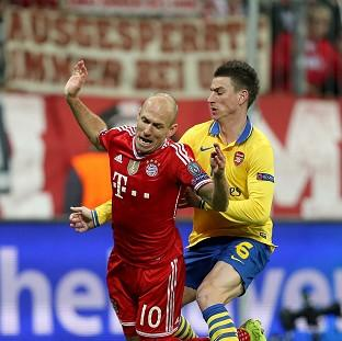 The Bolton News: Arjen Robben, left, won Bayern Munich a penalty