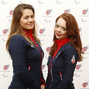 Jade Etherington, right, and guide Caroline Powell, left, were left d