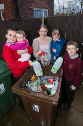 The council believes that recycling more will save thousands