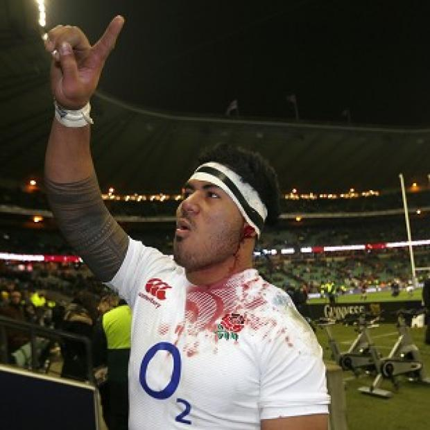 The Bolton News: England's Manu Tuilagi has been named on the bench