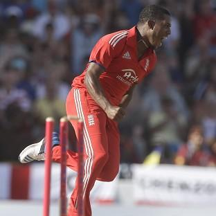 Chris Jordan shined with bat and ball in the third Twenty20 against West Indies (AP)