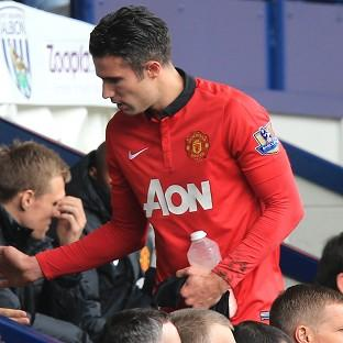 Robin van Persie says he is happy to stay at Manchester United beyond his current contract