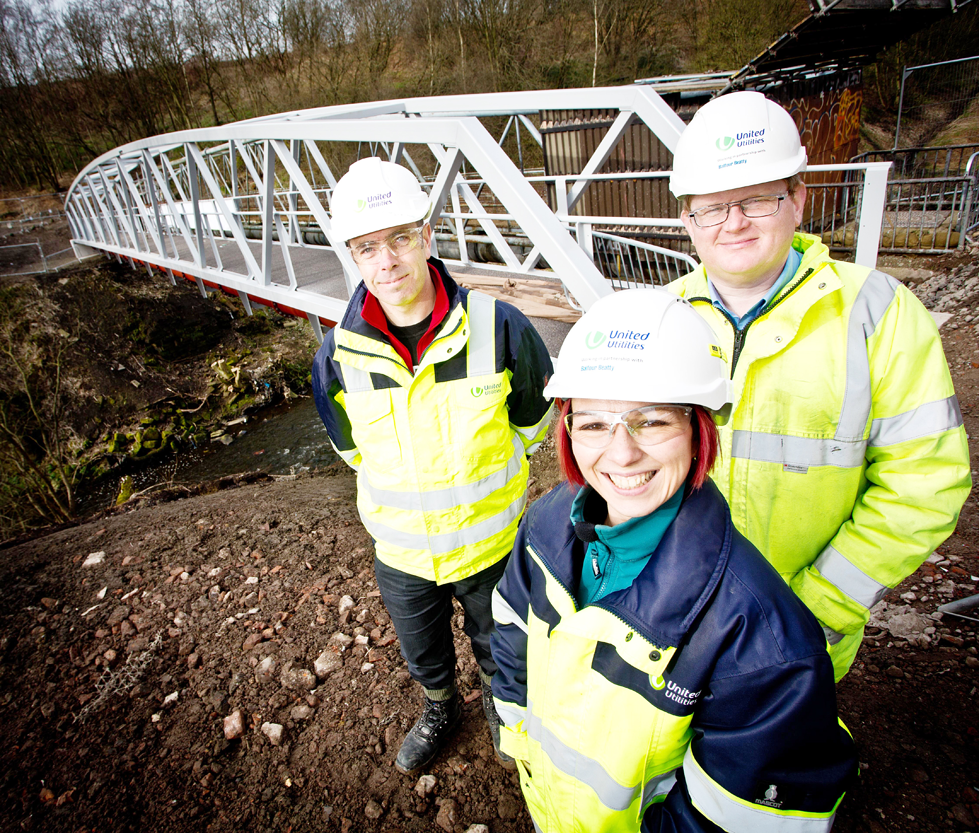 Bridge connecting Farnworth, Kearsley and Little Lever almost complete
