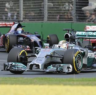 The Bolton News: Lewis Hamilton  had to pull out of the race (AP)