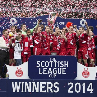 Aberdeen emerged victorious in Glasgow