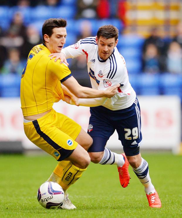 The Bolton News: Lukas Jutkiewicz is understood to be top of Wanderers' summer wanted list