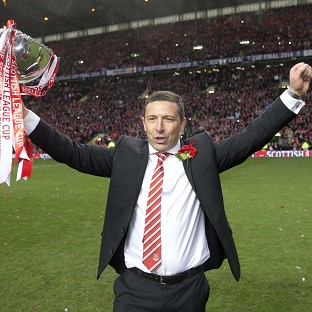 Derek McInnes guided Aberdeen to League Cup glory at the expense of Inverness