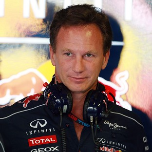 Christian Horner, pictured, faces an appeals battle after Daniel Ricciardo was excluded from the Australian GP