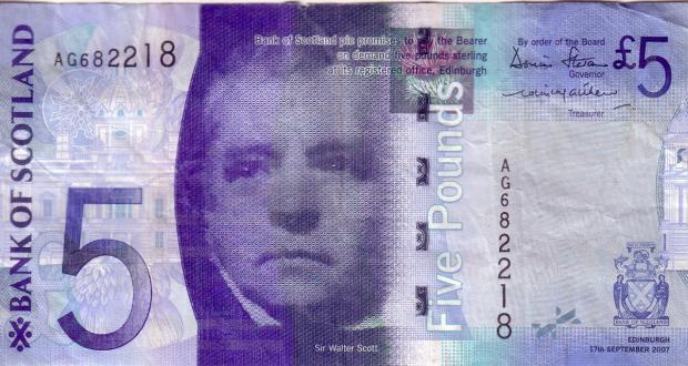 The Bolton News: This is what a Scottish banknote should look like.
